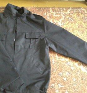 форменная куртка и бушлат теплый