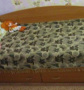 2 Кровати с матрасом
