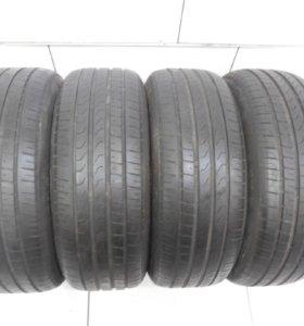 Шины бу 4 шт 245/45/18 Pirelli P 7 Cinturato Run F