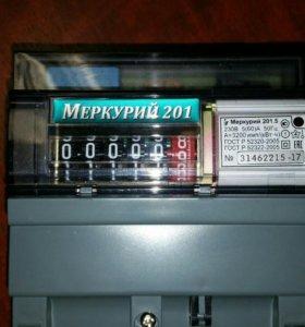 Счетчик электроэнергии Меркурий 201.5 НОВЫЙ