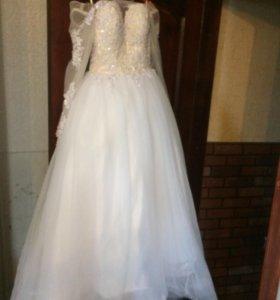 Свадебное платье для миниатюрных девушек