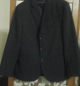 Пиджак школьный, для 2, 3 класса+галстук