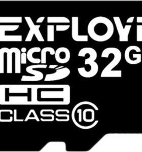 32GB microSDHC Class10 EXPLOYD