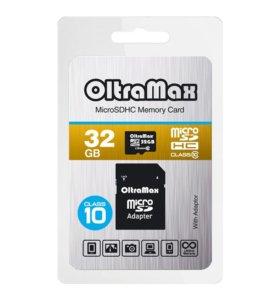32GB microSDHC Class10 OLTRAMAX