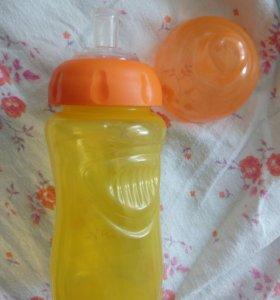 Новая,бутылочка поильник
