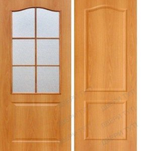 Коробка и межкомнатные двери