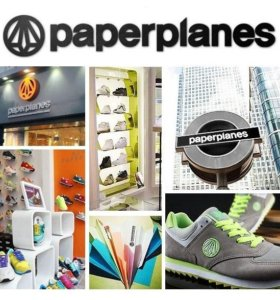 Кроссовки Paperplanes