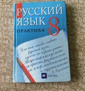 Русский язык практика , за 8 класс ,Пичугова