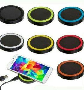 Беспроводные зарядки и приемники к ним для iPhone