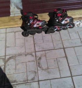 Продам Б/у детские роликовые коньки