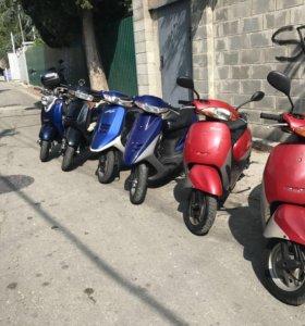 Скутеры с контейнера