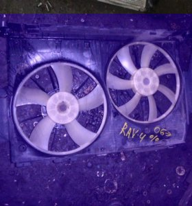 Диффузор в сборе для Toyota RAV 4 2006-2013