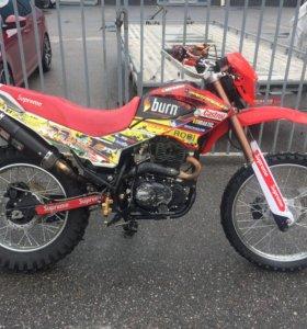 Мотоцикл эндурик Irbis Ttr250r с птс