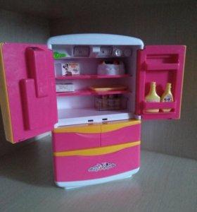 """Игровой набор """"Холодильник с аксессуарами"""""""