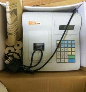 Машина электронная контрольно-кассовая экр 2102 ф