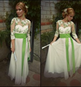 Платье (свадебное /выпускное/вечернее)