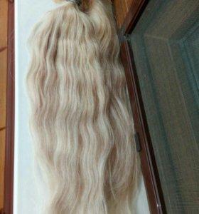 Кудрявые волосы для наращивания