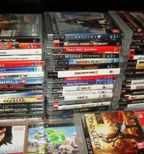 Ps3 много дисков на любой вкус