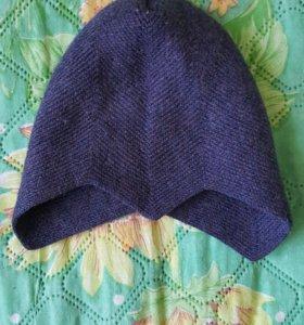 Шлемик теплый под шапочку