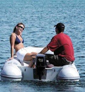 Новые двухтактн. лодочные моторы Tohatsu М9.8B S