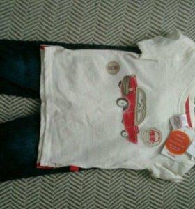 Комплект джинсы + футболка