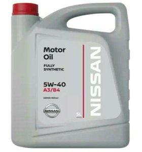 Моторное масло NISSAN 5w-40 5л.