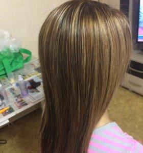 Окраска волос, прически