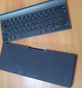 Logitech Tablet Keyboard for iPad Black Bluetooth