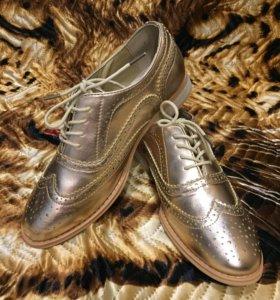 Лоферы-ботинки