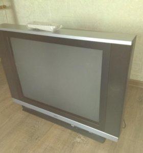 телевизор HITACHI с плоским экраном