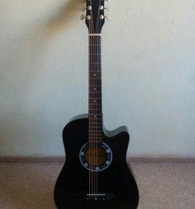 Чёрная гитара (новая)