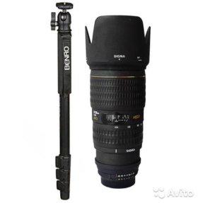 Sigma 70-200mm 12.8 APO EX HSM Nikon