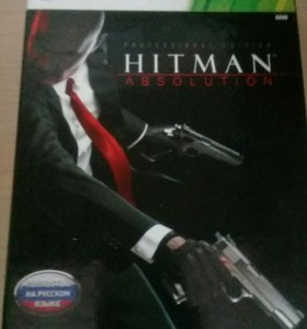 Игра HITMAN ABSOLUTION для xbox 360 и пк