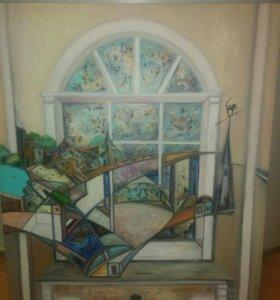 """Картина """"окно"""""""