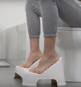 Подставка для ног в туалет