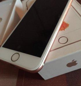Айфон 6s. 64г.Розовое-Золото.