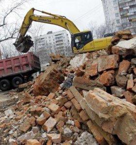 Приму твёрдые строительные отходы
