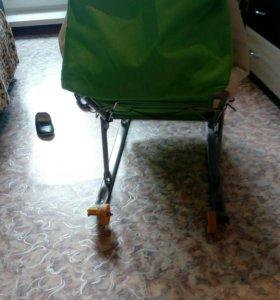 Санки-коляска.