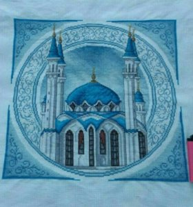 "Вышивка ""Мечеть Кул-Шариф""."