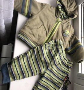 Костюм тёплый осенний(куртка и брюки)