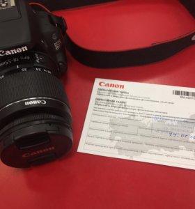 Canon 100D + карта памяти 32Gb