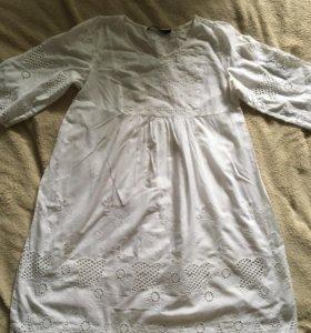 Платье белое кружевное BeFree