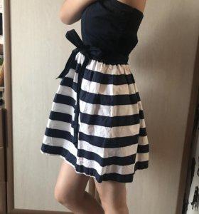Платье без бретелек (oodji)