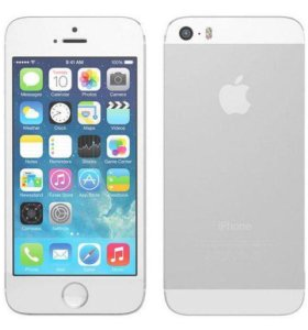 iPhone 5s 16Gb silver ИДЕАЛ