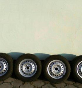 Зимний комплект(4шт.) шин