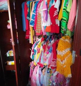 Одежда 0-7 лет