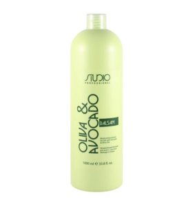 Kapous studio серия с маслами авокадо оливы