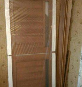 Дверь новая с коробкой и наличкой срочно 5р