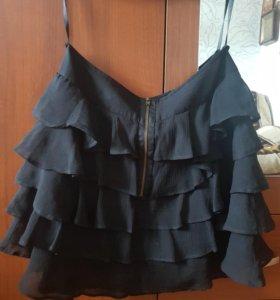 Шефоновая юбка от VERO MODA