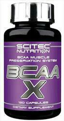 Scitec Nutrition BCAA-X 120 капсул